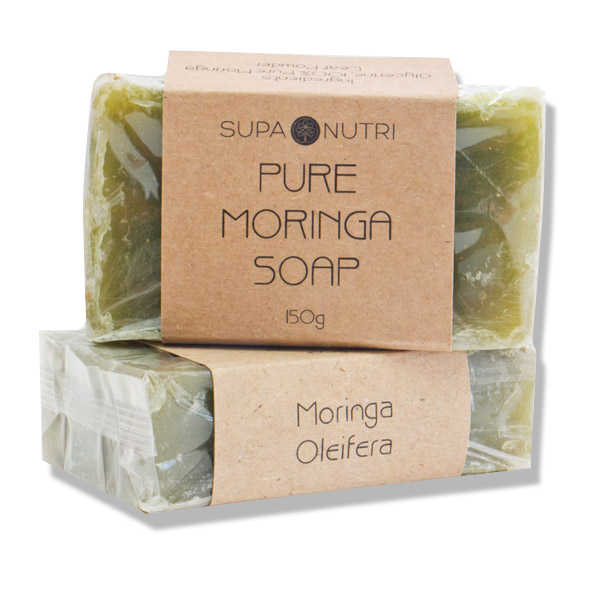 Pure African Moringa Leaf Powder Enriched Moringa Soap